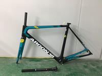 Wholesale Bicycle Bike Clamps Fork Frame - ASTANA ARGON 18 T1100 UD or 3k 2017 newest painting Carbon road Bike Frameset Super Light Frame+Fork+seat post+clamp+headset bicycle frame