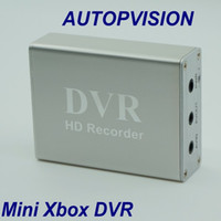 1 canale Mini cctv DVR Supporto SD Card Real-time Xbox HD Mini 1Ch DVR Scheda MPEG-4 Compressione video