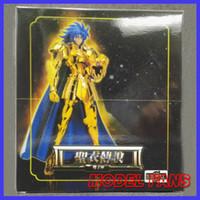 Wholesale Saint Seiya Metal - Wholesale- MODEL FANS IN-STOCK Gemini Saga S-Temple MC metalclub Gold Saint Seiya metal armor Cloth Myth Ex2.0 action Figure