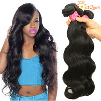 Brazillian Virgin Hair Wave Wave 3/4 Bundles Brazilian Body Wave Grado 8A Extensiones brasileñas de cabello humano Wet and Wavy Brazilian Hair Bundle