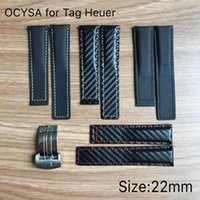 Wholesale Fabric Clasps - Carbon fiber advanced watch band Canvas strap Band for TAG Heuer