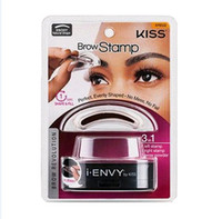 Wholesale Stamp Eyes - I ENVY BY KISS Eyebrow Powder Seal Makeup Eyes Brow Stamp Palette Delicated Shadow Definition Fast Beauty