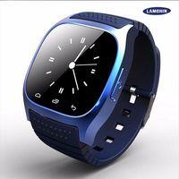 мобильные телефоны оптовых-M26 Smart Watch беспроводной blurtooth носимых смарт-часы спортивные часы для Android IOS мобильный телефон с розничной коробке