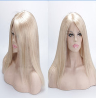 Wholesale Shoes Baby Size 14 - # 613 Straight Blond Wig Is FULL LACE WIGS Shoes And Half Baby About Brazilian Virgin Hair Silk Of Human Hair Wig Immediately Fills My Wigs