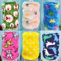 Wholesale Pet Pajamas Small - Spring Winter Pet Dog Clothes Puppy Coat T-shirts Vest Warm Hoodie for Small Dogs Clothes Chihuahua Puppy Outfits Cat Pajamas