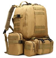 Wholesale Multi Purpose Dress - The New tactical backpack mountaineering bag outdoor camouflage combination backpack multi-purpose travel hiking camping equipmen