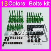 Wholesale yamaha yzf r3 resale online - Fairing bolts full screw kit For YAMAHA YZF R3 R25 YZF R3 YZF R25 YZFR3 YZFR25 Body Nuts screws nut bolt kit Colors