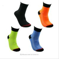 Wholesale Outdoor Table Accessories - New Arrival Soccer socks Long Stockings Cycling Riding Outdoor Exercise Sports Compression Athletic for Men HS