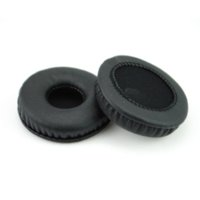 Wholesale Headset Sponges - 1 Pair Soft Sponge Earpads for Headphones Headset 70mm Black Durable Replacement Ear Cushions Pads Cover High Quality