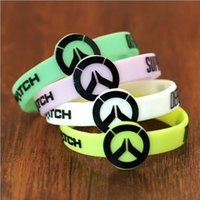 Wholesale Bracelet Band Baby - Luminous hot game logo Mosquito Repellent Band Bracelets Anti Mosquito Pure Natural Baby Wristband Hand Ring Free shipping