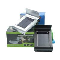 Wholesale Solar Light Motion Detection - Outdoor IP65 waterpr Solar LED Wall Lamp 16 LED wireless Motion Sensor Lights Motion Detection Path Garden Yard light cool white