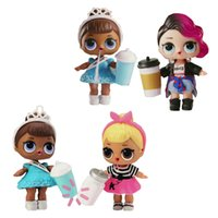 Wholesale Layers Little Girl - L.O.L Little Surprise Dolls Series 2 Lil Sisters Ball L.O.L. Surprise Doll 3 Packs - 7 Layers