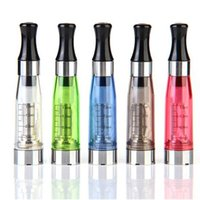 Wholesale Ego Electronic Cigarette Flat Mouth - Wholesale-CE4 Clearomizer Atomizer for eGo Flat Mouth Electronic Cigarette Battery ego ego-t c ego-w