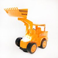 Wholesale Wholesale Toy Tractors - 2017 Sale Miniature Brinquedos Tamiya Bulldozer Truck City Construction Excavator Tractor Cars Model Kids Building Machinery Toy Car Toys