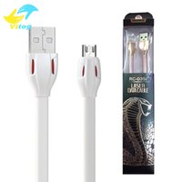 Wholesale Usb Snake Light - Remax 2016 New Design Micro USB Cable for Samsung S6 S7 edge note5 LG HTC SONY Huawei iphone5 6 with Lighting Snake Eyes