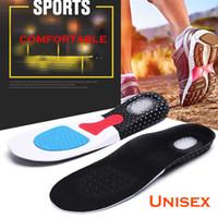 insertos de zapatos para correr al por mayor-Unisex Orthotic Arch Support Sport Shoe Pad Plantillas de gel para correr Inserción Cojín Amortiguador Formación EVA plantillas para hombres mujeres