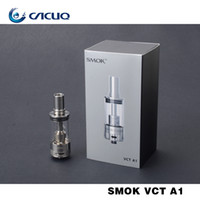 Wholesale A1 Clearomizer - Wholesale-Original smoktech VCT A1 atomizer e cigarette with 3.8ml 0.5ohm 510 thread smok clearomizer For Smok XPRO M80 plus M65 freeship