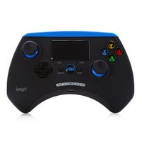 Wholesale Ipega Bluetooth Controller Android - Original IPEGA PG-9028 Wireless Bluetooth Gamepad Game Controller Joystick with Touchpad Clip Holder for Android iOS PC TV Box