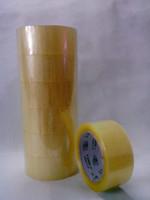 ingrosso nastro adesivo trasparente-Nastri adesivi Bopp Cartone Strong Force Nastri adesivi monofacciali trasparenti Materiali di imballaggio Nastri adesivi 20Y X 44mm