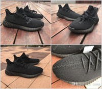 Football spy racing - Best SPY V2 V3 boost triple white Zebra UV light Kanye west sneakers Men black Running Shoes size us7
