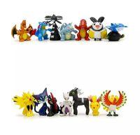 Wholesale One Piece Figure Model - Poke game 100 Styles Poke Figures Toys Pikachu Charizard Eevee Bulbasaur Suicune PVC Mini Model Toys For Children