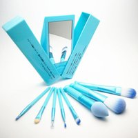 Wholesale professional makeup tool box online - 3 Colors Hello Kitty Set Makeup Brush Set Professional Makeup Tools Portable Storage Box Full Set