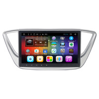 Wholesale Gps Hyundai Verna - Android 6.0 10.1inch car dvd player for new Hyundai Verna Solaris Accent 2016 2017 with Radio FM SWC GPS free maps