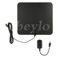 Wholesale Indoor Booster - HDTV Indoor Antenna- 50 Miles Digital Long Range TV HD Antenna With Amplifier Signal Booster Upgraded Version Better Reception