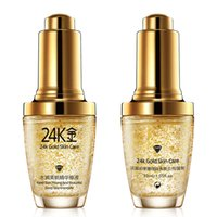 Wholesale Gold Cream For Face - BIOAQUA 24K Gold Face Cream Whiten Moisturizing 24 K Gold Day Cream Hydrating 24K Gold Essence Serum For Women Face Skin Care