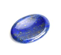 Wholesale Green Feng Shui - Natural Tumbled Chakra Stones Carved Thumb Irish Worry Stone Crystal Healing Palm Stone with a Free Pouch