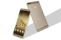 kostenlos huawei telefone großhandel-2017 freies verschiffen huawei p9 plus max klon 64bit mtk 6592 octa kerntelefon 4g lte smartphone android 5.0 3gb ram 6,0 zoll goophone