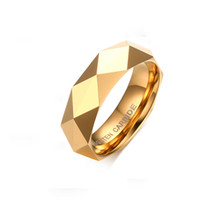 Wholesale Fashion Tungsten Ring Wedding Bands Ring mm Men Women Tungsten Carbide Rings Jewelry Unisex TTT