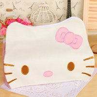 Wholesale Wholesale Leather Tissue Boxes - Wholesale-Hello KITTY Winnie the Pooh Home Car Tissue Case Box Container Towel Napkin Papers BAG Holder BOX Case PouchFree Shiiping
