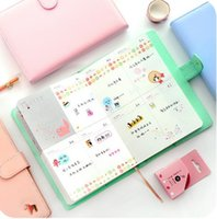 Wholesale Schedule Book - New Arrival Weekly Planner Sweet Notebook Creative Student Schedule Diary Book Color Pages School Supplies No Year Limit