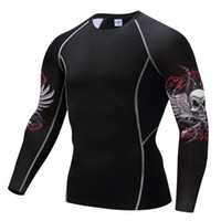 Wholesale Halloween Pink Panther Costume - Luxury Black Panther 3D Printed T-shirts Captain America Civil War Tee Long Sleeve Cosplay Halloween Costumes Compression Tops Male For