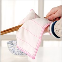 Wholesale Magic Squares Cleaning - Eco-friendly Multipurpose quick dry Washing Towel Magic Gauze Towel kitchen Cleaning Small Square Dish Cloth Wiping Rag