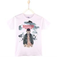 Wholesale Christmas Fashion Tshirts - 2017 Kids Clothes Children T-shirts Stranger Things 100% Cotton Short Sleeve Boys T Shirt Baby tshirts Girls Tops Child Shirt