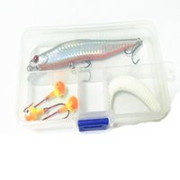 Wholesale fishing lures box online - Bait Container For Fishing Accessories Grid Storage Boxes Lure Hook Baits Case Adjustable Plastic Light Weight Portable hj F1
