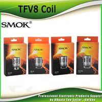 Wholesale Original V8 - Authentic Smok TFV8 Coil Head V8-T8 V8-T6 V8-Q4 V8-X4 V8-T10 Turbo V8 RBA Replacement Coils For TFV8 Cloud Beast Tank 100% Original SmokTech