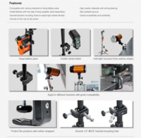 Wholesale Godox Battery Pack - Godox Q-type Q type Multifunctional Clamp Clip For Camera PB960 Battery Pack Flash Speedlite Photo Studio Accessorie