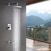 bathroom shower faucets modern shower heads hot and cold cater with single handle 3 holes wall mount bathroom accessories in bulk price