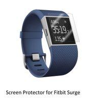 relógio inteligente animal de estimação venda por atacado-Atacado-3 * Clear LCD PET Film Anti-Scratch Protetor de Tela Capa para Smart Watch Computer Fitbit Surge