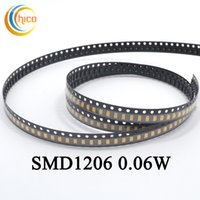 Wholesale Spotlight Led Strip - 1206 SMD led chip led bead light led diodes for LED strip light Spotlight & Indoor Bulb Red Yellow Blue Green White Warm white