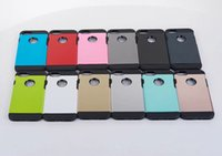 Wholesale shock iphone 5c online - Armor Defender Case PC TPU Cover Protective Shell for iphone7 plus S S C S Hybrid Case for VERGE Dual Layered Anti Shock Hard Case