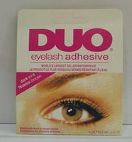 Wholesale Eye Lashes Glue Duo - Adhesive DUO Eye Lash Glue False Eyelashes Clear White & black Makeup Adhesive WATER PROOF Eyelash Adhesive 9G Makeup Tools