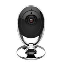 Wholesale Ip Camera Radio - Wireless IP HD 720P Camera P2P Two-way radio 3.6mm lens IR distance 10m support 128G TF