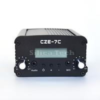 Wholesale Radio 7w - CZE-7C 7W stereo PLL FM transmitter broadcast radio station-TNC port