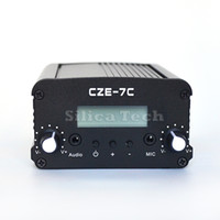 Wholesale CZE C W stereo PLL FM transmitter broadcast radio station TNC port