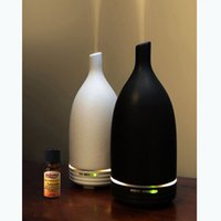 Wholesale Ultrasonic humidifier Oil Diffuser Ultrasonic Air Humidifier with Grain Color Changing LED Lights electric machine Air purifier