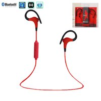 Wholesale iphone 4s ear phones - Sport Stereo Blutooth Blue tooth Headset Wireless Headphones in Ear Earphone Phone for iPhone 6 5s 4s Samsung Xiaomi